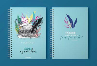 Agenda del Escritor 2021 Postdata Ediciones. Lily Vainylla.