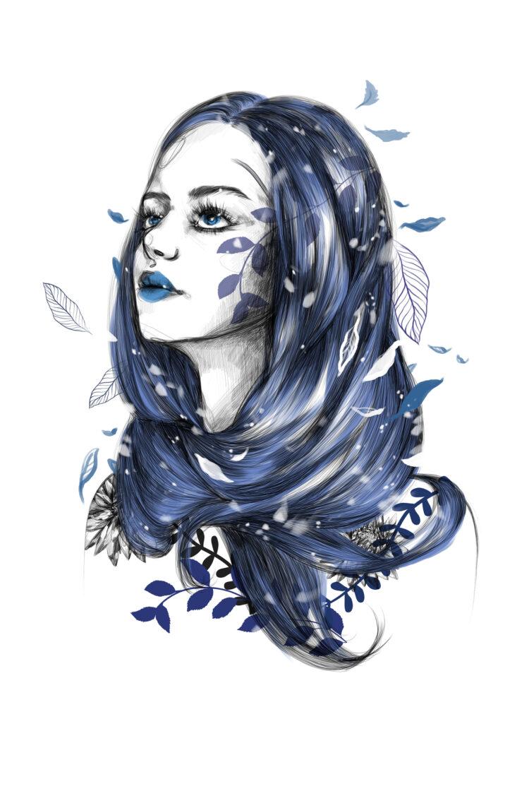Invierno en mis ojos. Lily Vainylla, Postdata Ediciones.