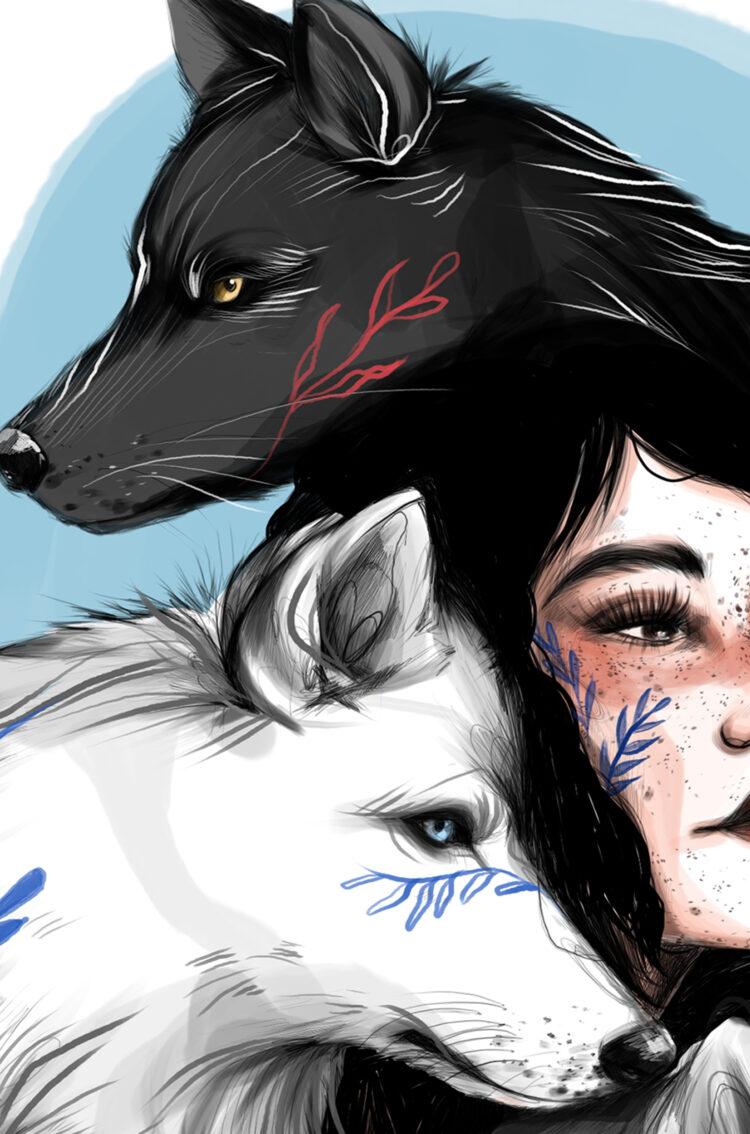 Ilustración editorial. Lily Vainylla.